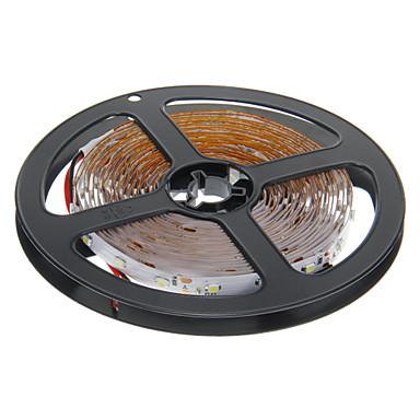 zdm ™ 5m 24w 300x3528smd 6000k soğuk beyaz ışık led şerit lambası (DC 12V)