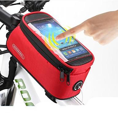 ROSWHEEL® Cyklistická taška #(1.5)LBrašna na rám / Mobilní telefon BagVoděodolný / Rychleschnoucí / Odolné vůči prachu / Nositelný /