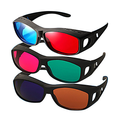 partea reedoon roșu albastru de miopie partea ochelari 3D pentru tv computer mobil