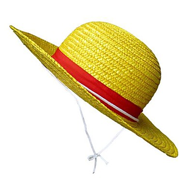 2abc044a002f Sombrero   Gorra Inspirado por One Piece Monkey D. Luffy Animé Accesorios  de Cosplay Sombrero