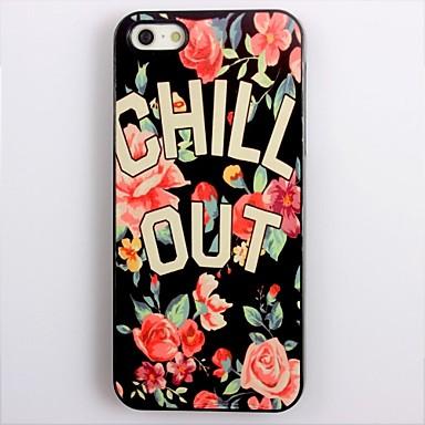 Chill Out design din aluminiu greu de caz pentru iPhone 4/4S