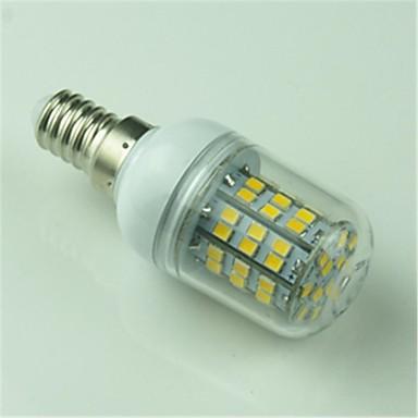 E14 LED Corn Lights T 60 leds SMD 2835 500lm Warm White Decorative AC 220-240