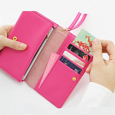 Çok Fonksiyonlu Zip Wallet (Karışık Renkli)