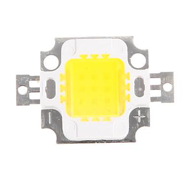 10W 800-900LM Yüksek Güç Entegre 4500K Doğal beyaz LED Chip (9-12V)