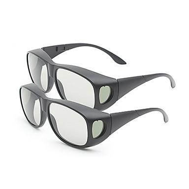 m&Genel polarize ışık desenli geciktirici tv (2adet) için 3d gözlük kalınlaştırmak k