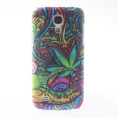 colorat model pictură în ulei de acoperire caz de greu cu mat capacul din spate pentru Samsung Galaxy S9500