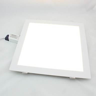 24W 1920lm Square Panel Downlight, Dağı Delik 285 * 285mm, 100 ~ 240V Giriş
