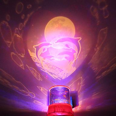 DIY Shark Romantic Galaxy Starry Sky Projector Night Light for Christmas Party
