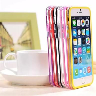 cadru barei de protecție spatele gol TPU hibrid și acoperire pc pentru iPhone 6 (culori asortate)