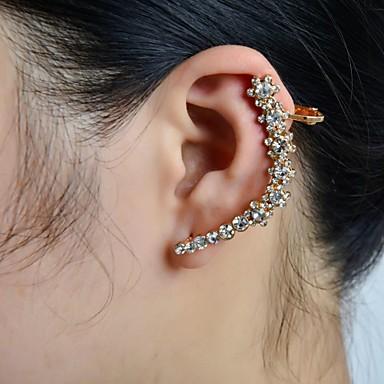 Femme Poignets oreille - Strass, Imitation Diamant Fleur Luxe Pour Mariage / Soirée / Quotidien