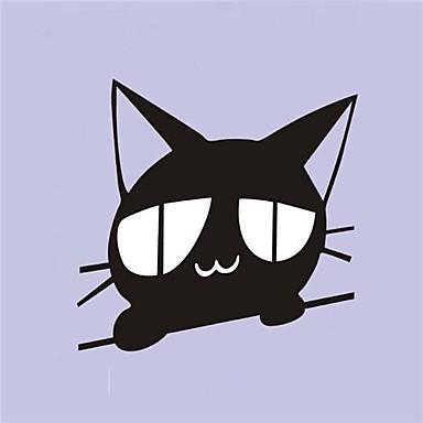 desene animate pisica peeping autocolante acțiune auto