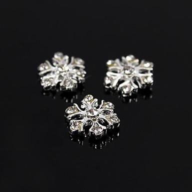 10 pcs Nail Jewelry / Diğer Süslemeler Mevye / Çiçek / Soyut Günlük Mevye / Çiçek / Soyut Sevimli / Karikatür / Metal