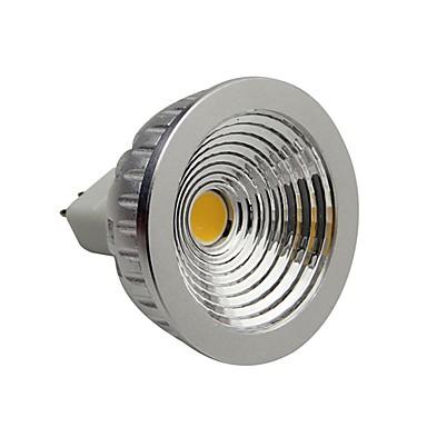 2800-3000 lm GU5.3(MR16) LED Spot Işıkları 1 LED Boncuklar COB Kısılabilir Sıcak Beyaz 12 V / RoHs