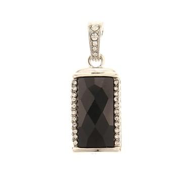 zp 64GB model pandantiv negru bling diamant stil de metal unitate flash USB