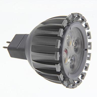 3000 lm GU5.3(MR16) LED Spot Işıkları MR16 led Sıcak Beyaz AC 12V DC 12V