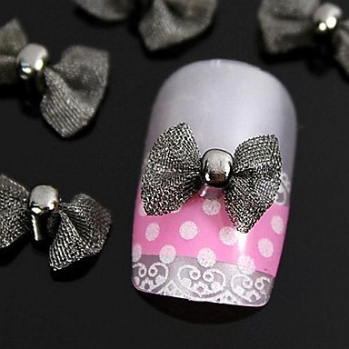 Sevimli tırnak sanatı Manikür pedikür Metal Mevye / Çiçek / Soyut Günlük / Karikatür / Nail Jewelry