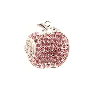 zp 64GB roz diamant model de mere bling diamant stil de metal unitate flash USB