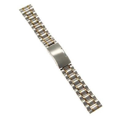 Erkek Kadın Saat Kordonları Paslanmaz Çelik #(0.047) #(16.5 x 1.8 x 0.3) Saat Aksesuarları