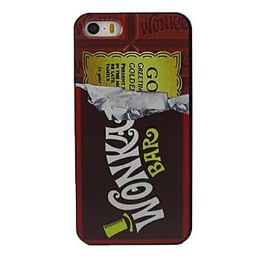 bomboane de ciocolată model de design greu caz pentru iPhone 5 / 5s