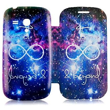 samsung galaxy s3 Mini i81900 için renkli gökyüzü tam vücut davayı casebox®