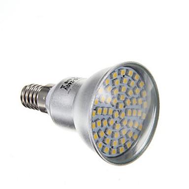 4W 2800 lm E14 Faretti LED PAR38 60 leds SMD 3528 Bianco caldo CA 220-240 V