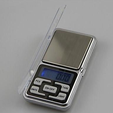 Mini Portable Electronic Scales 500g/0.1g,Plastic 12X6.2X2CM