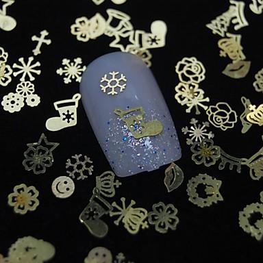 100pcs Nail Jewelry Diğer Süslemeler Soyut Klasik Günlük Soyut Klasik Yüksek kalite
