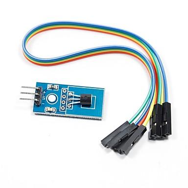 DS18B20 module de capteur de température pour Arduino (fonctionne avec les cartes Arduino officielles)