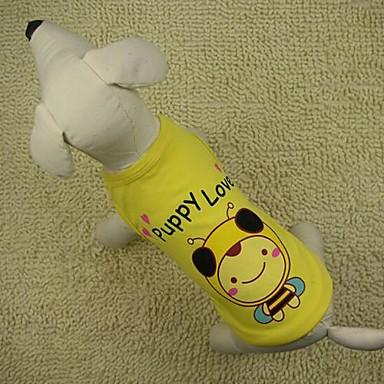 adorabil albine model vesta cu t-shirt pentru câini (culori asortate)