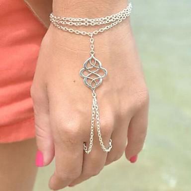 Kadın's Zincir & Halka Bileklikler Günlük Bohem Moda Other Mücevher Kostüm takısı