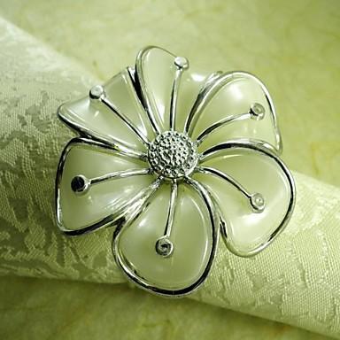 Γυαλί Μίνι Δαχτυλίδι Πετσέτας Με Μοτίβο Φιλικό προς το περιβάλλον Επιτραπέζια διακοσμητικά