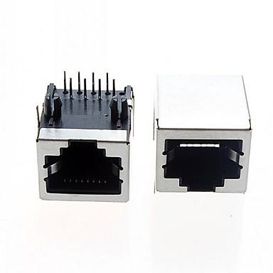 rj ethernet interface καλώδιο γενική RJ45 διεπαφή δικτύου (5pcs)