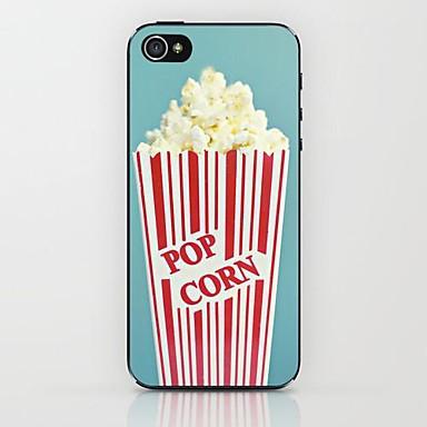 caso duro em pipoca para iPhone 5 / 5s