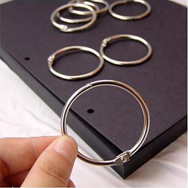 accesorii album DIY inele metalice stabilite (3 buc)