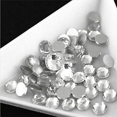 glas - Gems - Flatback - 100 - stuks