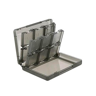 Caixa de armazenamento de cartão Para Nintendo 3DS Caixa de armazenamento de cartão ABS 1 pcs unidade