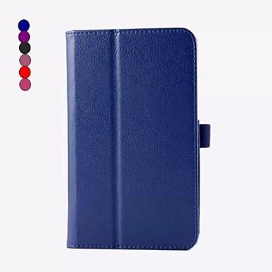 7 inch hoge kwaliteit pu leer met standaard case voor asus memo pad 7 me70cx (verschillende kleuren)