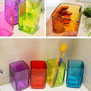 multifunctionele snoep kleur tandenborstel beker (willekeurige kleur)