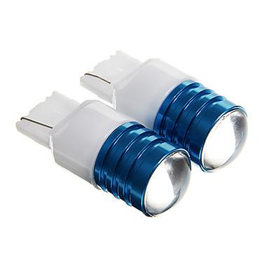 t20 5w r3 450lm 6000K wit licht geleid voor auto achteruit licht (dc 12 2 stuks)