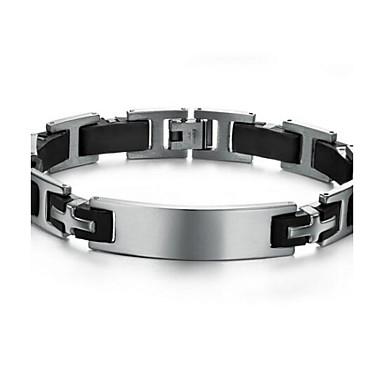 voordelige Heren Armband-z&x® herenmode persoonlijkheid trend armband silicone titanium armbanden