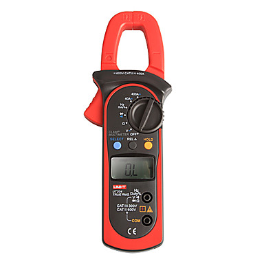 UNI-T UT204 LCD Ampermetre digitale Multimetre RMS 600V/400A 10Hz ~ 1MHz Digital Multimetru Clamp