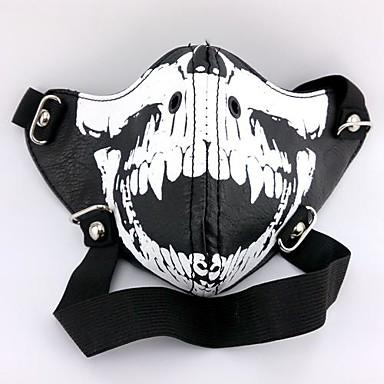 Máscara Inspirado por Tokyo Ghoul Fantasias Anime Acessórios para Cosplay Máscara PU Leather Homens novo quente