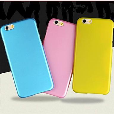 Capinha Para iPhone 6 iPhone 6 Plus Áspero Capa Traseira Côr Sólida Rígida PC para iPhone 6s Plus iPhone 6 Plus iPhone 6s iPhone 6