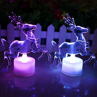Coway Crăciun ren acrilic colorat veioza dus