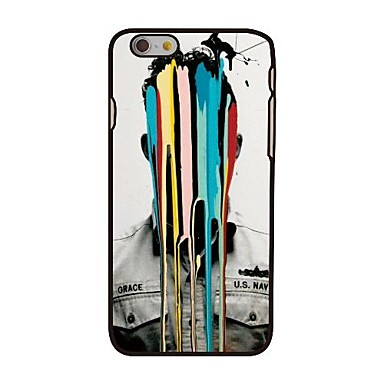 Pentru Carcasă iPhone 6 / Carcasă iPhone 6 Plus Model Maska Carcasă Spate Maska Dale Greu PC iPhone 6s Plus/6 Plus / iPhone 6s/6