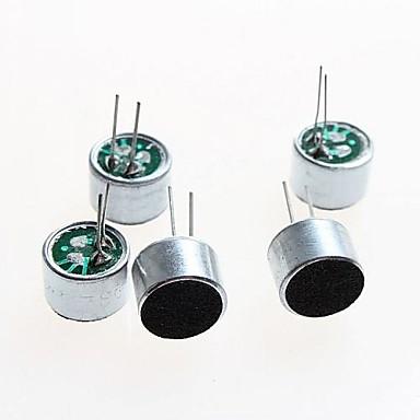 7x5mm mike επικεφαλής mic μικρόφωνο ηλεκτρονική diy αξεσουάρ μικροφώνου (5 τεμ)