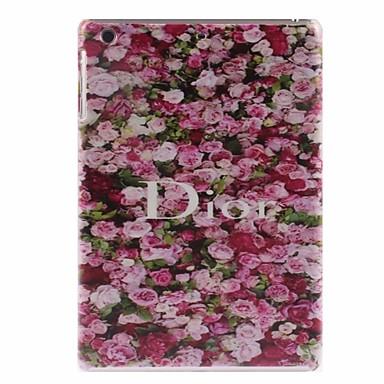 rosa vermelha projetar caso de volta durável para o mini-iPad 3, mini iPad 2, iPad mini / mini-ipad 3, mini ipad 2, mini ipad