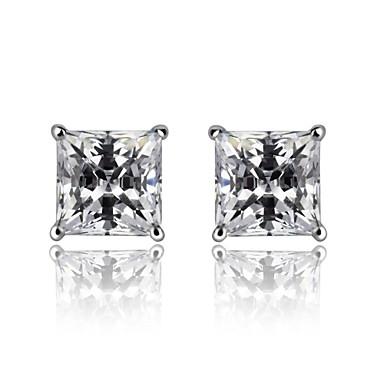 Σκουλαρίκι Κουμπωτά Σκουλαρίκια Κοσμήματα Γάμου / Πάρτι / Καθημερινά / Causal Ασήμι Στερλίνας Ασημί