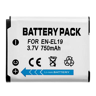 3.7v 750mah Shenfu λιθίου ιόντων mini dv batttery για Nikon EN-EL19