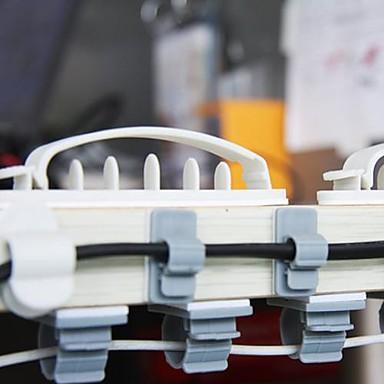 preiswerte Bürobedarf-doppelseitig klebenden Kunststoffdraht Sammler Spuler (3 Größen 10 Stück)
